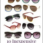 10 frugal fashion sunglasses