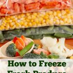 Freezing Fresh Produce – Tips for Freezing Fruits, Vegetables, & Herbs