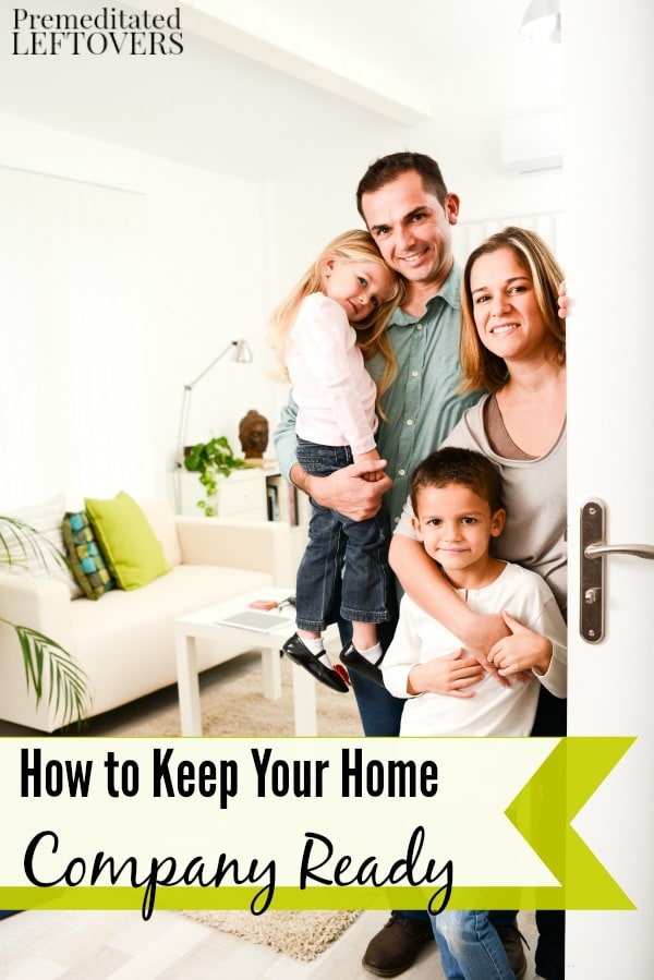How To Keep Your Home Company Ready