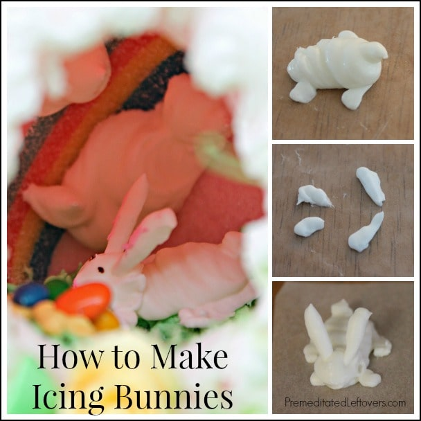 How to Make Icing Bunnies