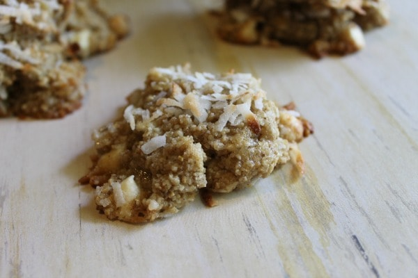 a recipe for banana coconut cookies
