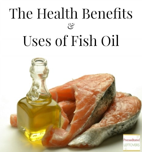 The health benefits of fish oil for Advantages of fish oil