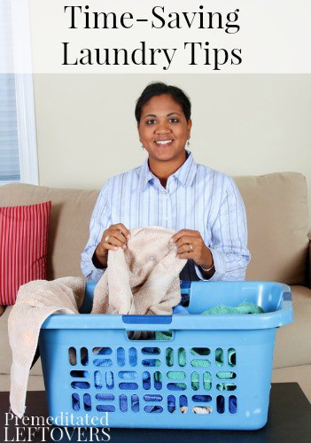 Time saving laundry tips