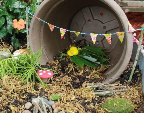 fairy garden bunting