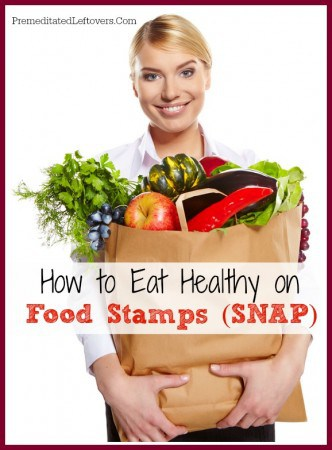 There are more ways to fit healthy food into your SNAP budget than you may think! Here are some tips on How to Eat Healthy on Food Stamps.