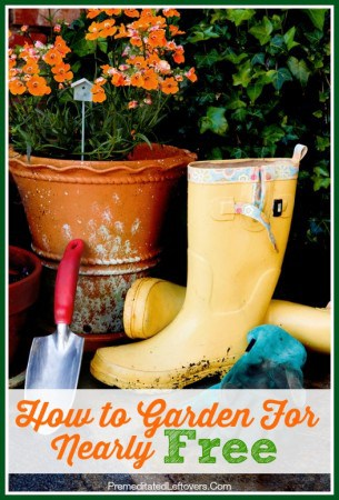 How to Garden for Nearly Free