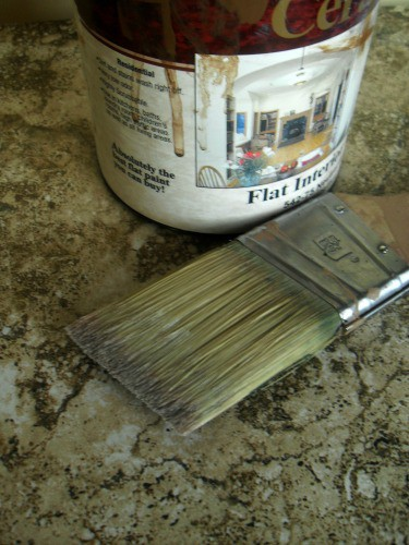 painting like a pro - brush and paint