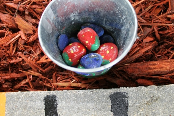 How to Make a Garden Tic Tac Toe Game for Kids