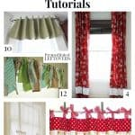10 Free Window Treatment Patterns and Tutorials