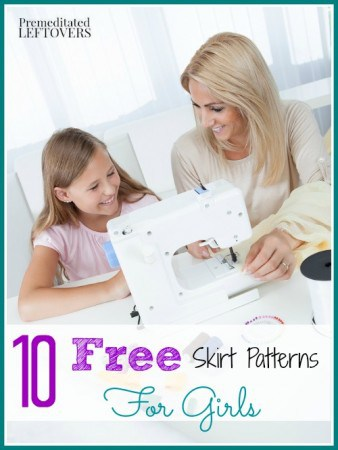 10 free skirt patterns for girls