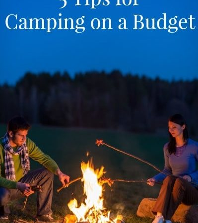 Camping on a Budget - How to save money on camping. Tips to help you save money on camping gear, camping supplies and campground fees.