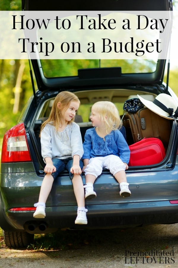 How to Take a Day Trip on a Budget - Tips for saving money on a short day trip or staycation including how to save money on food, fuel, and activities.