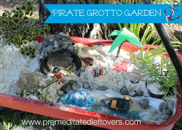 How to Create a Pirate Grotto Garden for Kids