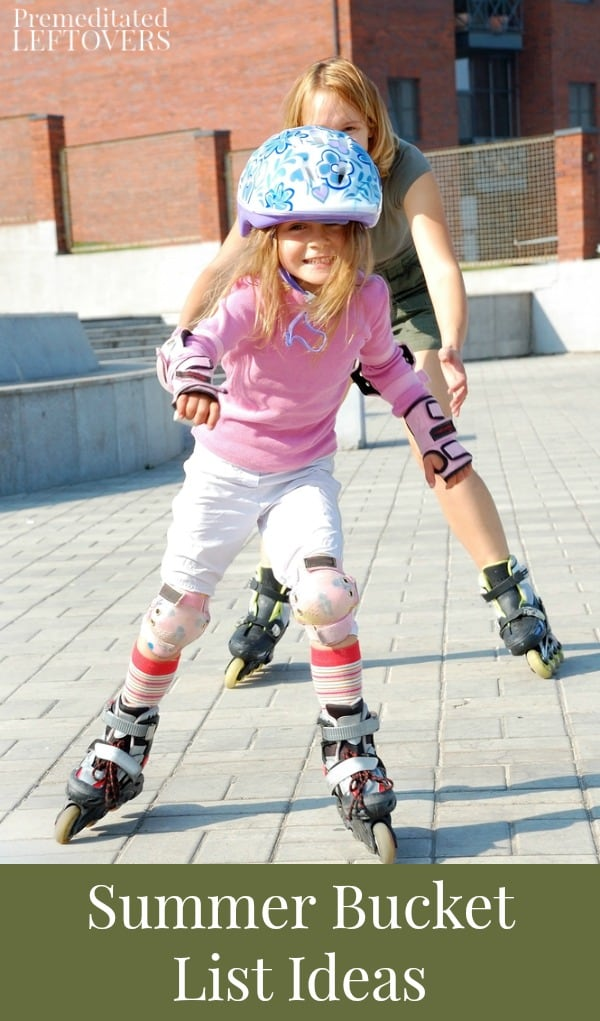 summer bucket list idea - rollerblading
