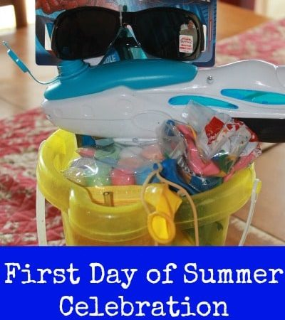 First Day of Summer Celebration Ideas for Kids - Celebrate the first day of summer vacation with these fun ideas for setting a fun and festive mood!