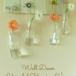 Wall Decor – Upcycled Hanging Vases