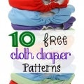 10 Free Cloth Diaper Patterns
