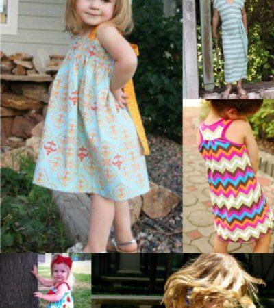 10 Free Sundress Patterns for Girls