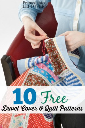 10 Free Duvet Cover and Quilt Patterns