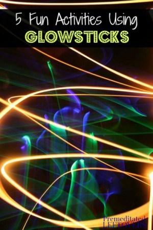 5 Fun Activities Using Glowsticks for Kids