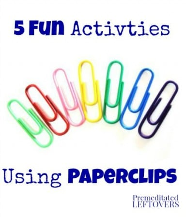 5 Fun Activities Using Paper Clips For Kids