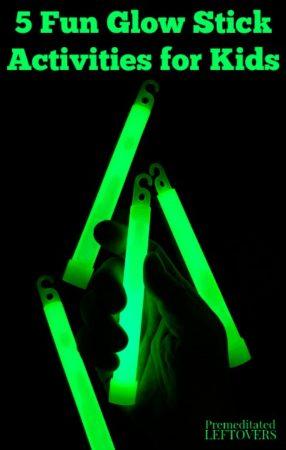 5 Fun Glow Stick Activities for Kids on Summer Nights