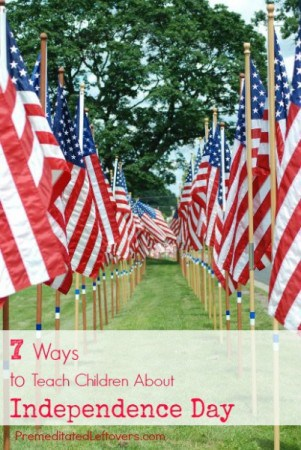 7 Ways to Teach Children About Independence Day