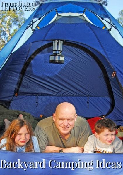 Backyard Camping Tips : Backyard Camping Ideas for Kids