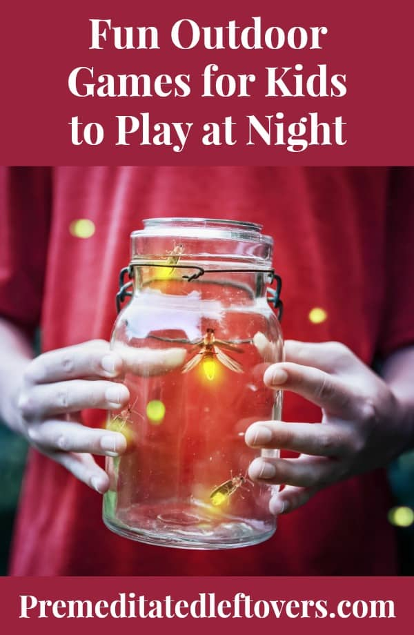 fun night games for kids
