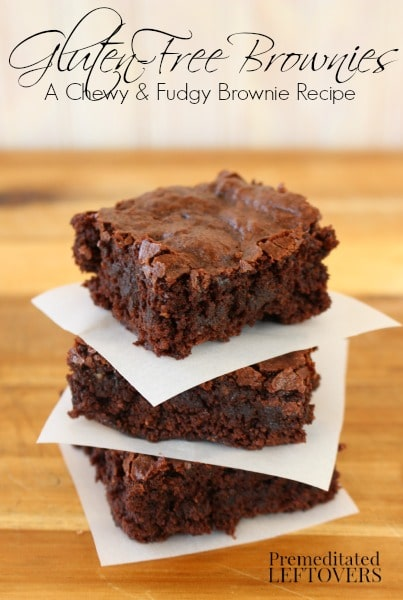 Gluten-Free Brownies - A Chewy and Fudgy Brownie Recipe