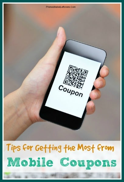 Tips for getting the most from mobile coupons