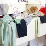 How to organize your child's clothing