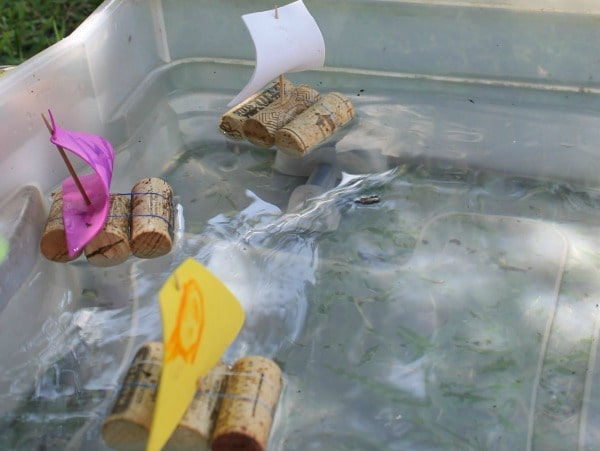 How to make toy boats