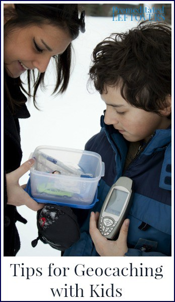 Tips for geocaching for kids