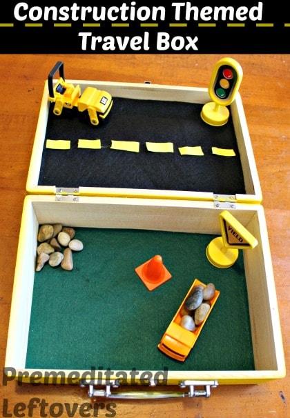 DIY constuction site travel box