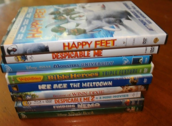 Family movie and family game night ideas