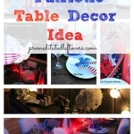 Elegant Patriotic Table Decor Ideas