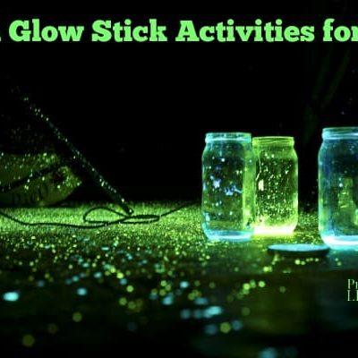 5 Fun Glow Stick Activities for Kids