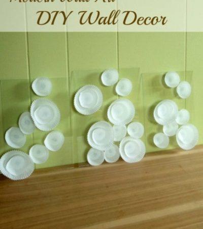 DIY Wall Decor - Modern Wall Art