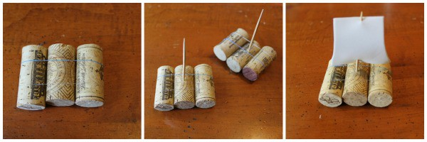 Making Toy Boats That Float Using Wine Corks Foil And Straws