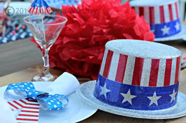 uncle sam table setting