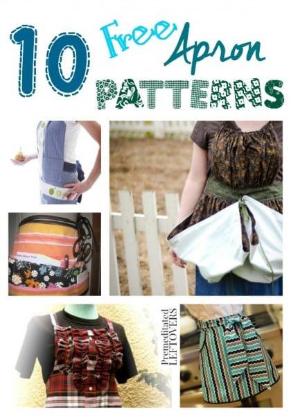 10 free apron patterns