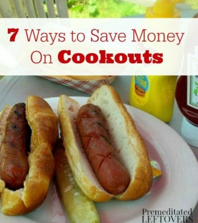 7 Ways to save Money on Cookouts