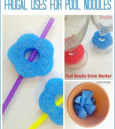 3 Creative and Frugal Uses for Pool Noodles