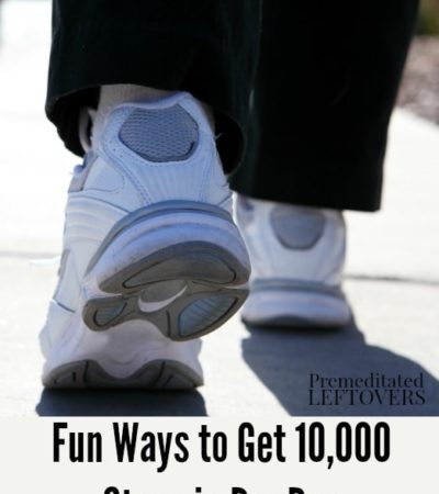 Fun Ways to Get 10,000 Steps in Per Day