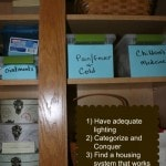 How to Organize Your Medicine Cabinet - Things to consider when setting up a medicine cabinet and tips for organizing a medicine cabinet.