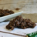 Mocha Fudge No Bake Cookies Recipe