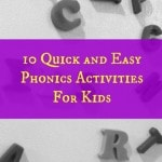 quick and easy phonics activities for kids