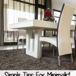 Simple Tips for Minimalist Home Decorating