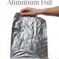 10 Frugal uses for Aluminum Foil